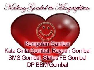 kumpulan Kata kata Gombal cinta yang romantis lucu dan terbaru