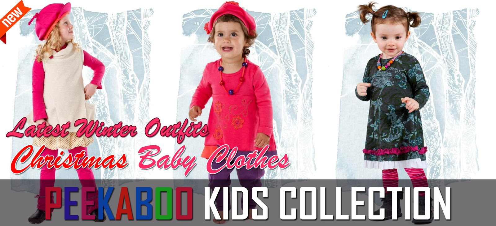 Peekaboo Winter Outfits 2012 13 For Kids Christmas Baby Clothes By