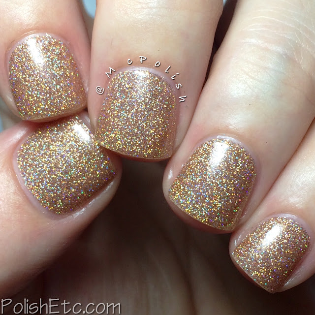 KBShimmer Fall 2015 Collection - I Feel Gourd-geous - McPolish