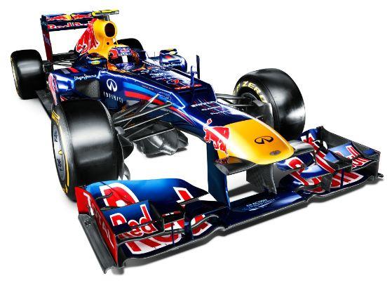 F1 2012 RedBull RB8