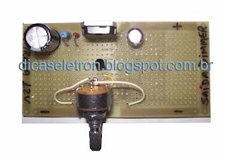 Como Fazer um Dimmer 12V para Fonte Chaveada