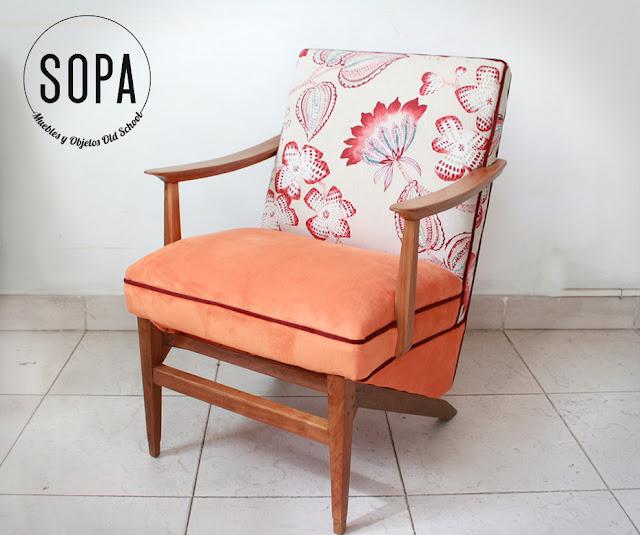 Sopa muebles y objetos old school sill n americano for Vintage muebles y objetos