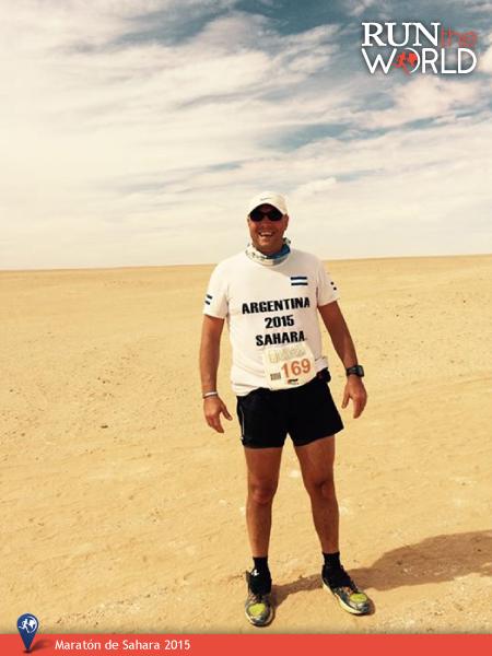 Maratón Sahara 2015