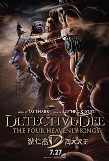 Detetive Dee: Os Quatro Reis Celestiais Legendado Online