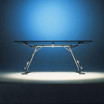 mobiliario de oficina mesa nomos de norman foster una
