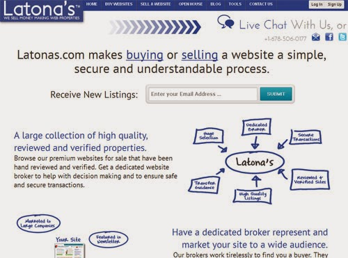 latonas website
