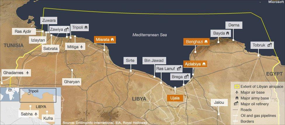 Libya Map Africa. map africa, libya finder,