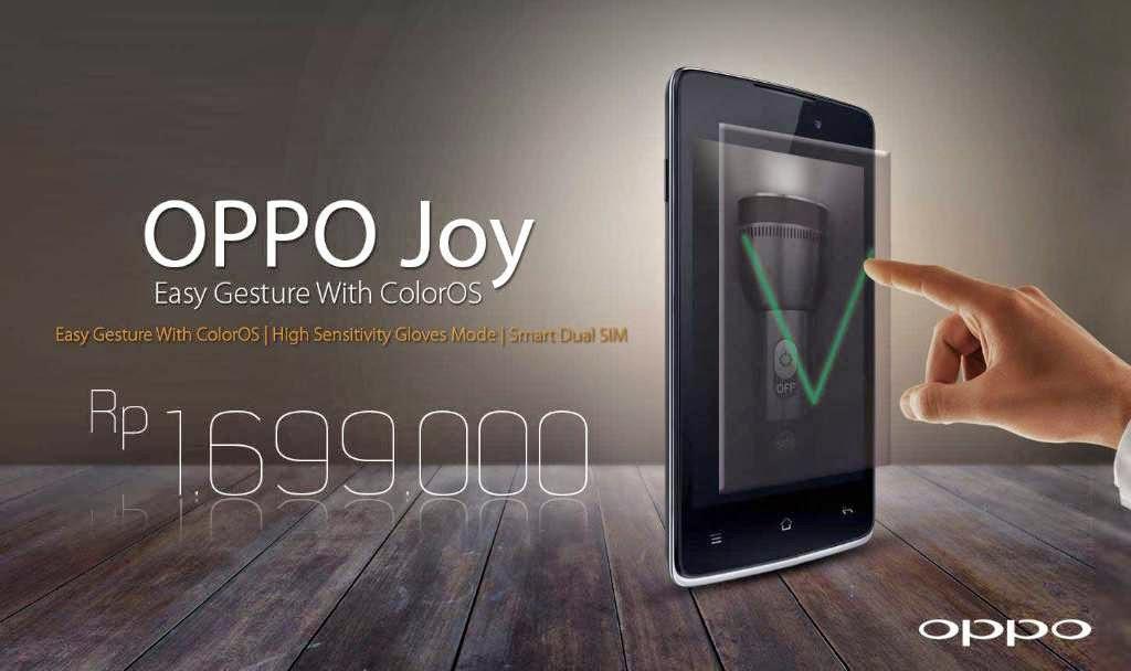 Harga dan Spesifikasi Hp Smartphone Oppo Joy