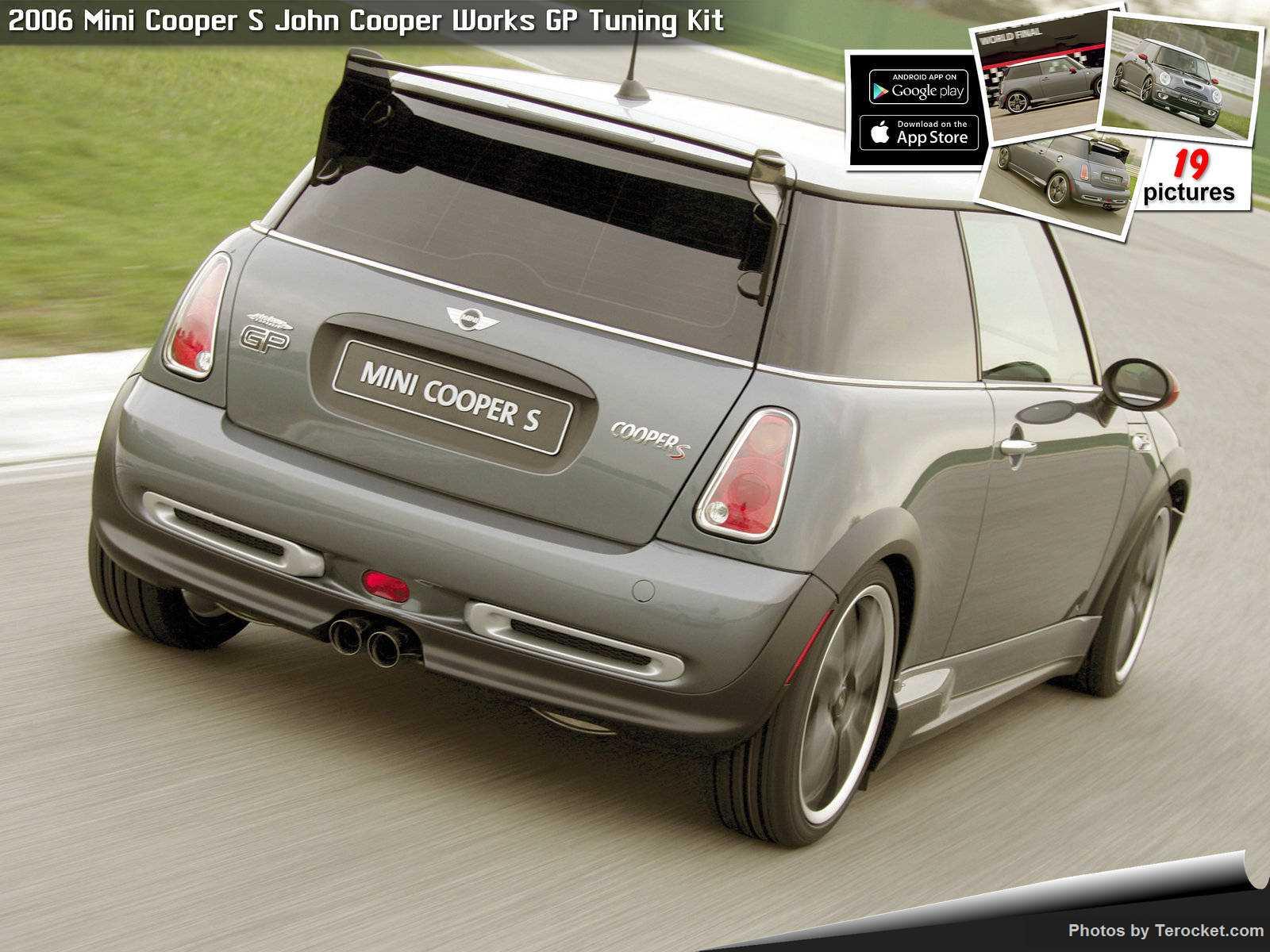 Hình ảnh xe ô tô Mini Cooper S John Cooper Works GP Tuning Kit 2006 & nội ngoại thất
