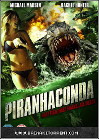 Capa Baixar Filme Piranhaconda DVD Rip   Torrent Baixaki Download