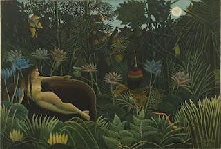 O Sonho, de Henri Rousseau