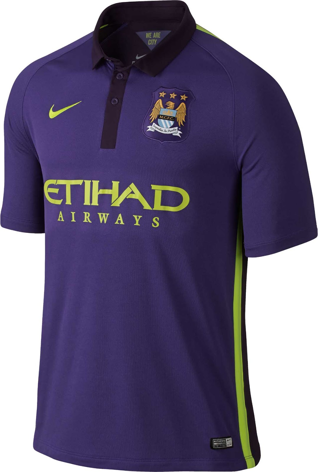 Manchester City 2014-2015 Local, Visita y alterno .