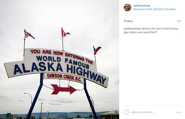 Mile 0 Alaska Highway, Dawson Creek