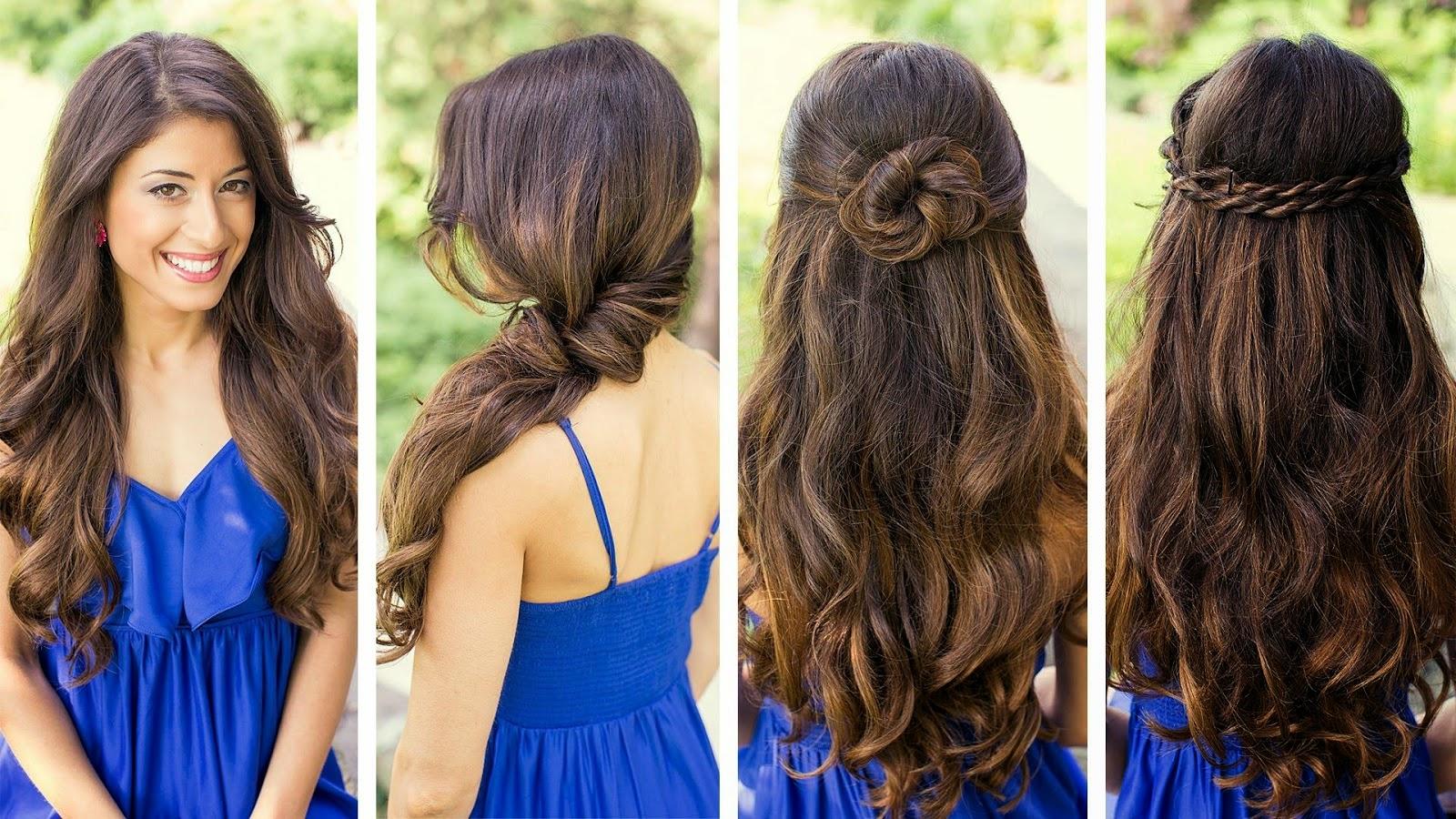 150 peinados sencillos para chicas con poco tiempo Foto  - Clases De Peinados Para Mujeres