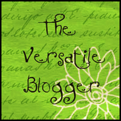 PREMIO...The Versatile Blogger