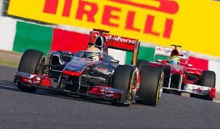 Gambar Mobil Balap F1 McLaren 09