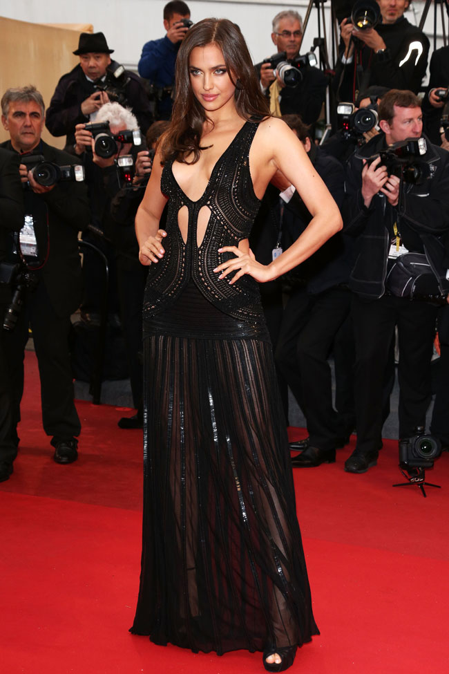 Irina Shayk - Cavalli gown at the 'All is Lost' Cannes Film Festival 2013 premiere
