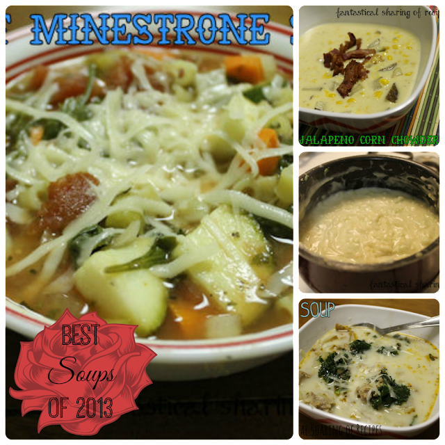 Best Soups of 2013 | Fantastical Sharing of Recipes #soups