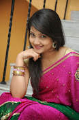 Priyanka Gorgeous Photos in Saree-thumbnail-2