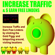 Increase Traffic and Earn Lindens
