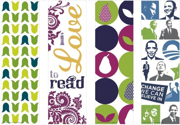 Two Bee: Coletânea: Marcadores de livros para imprimir! :)