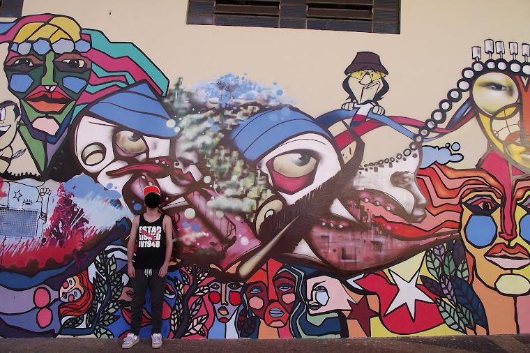 1° encontro de arte urbano chile e brasil
