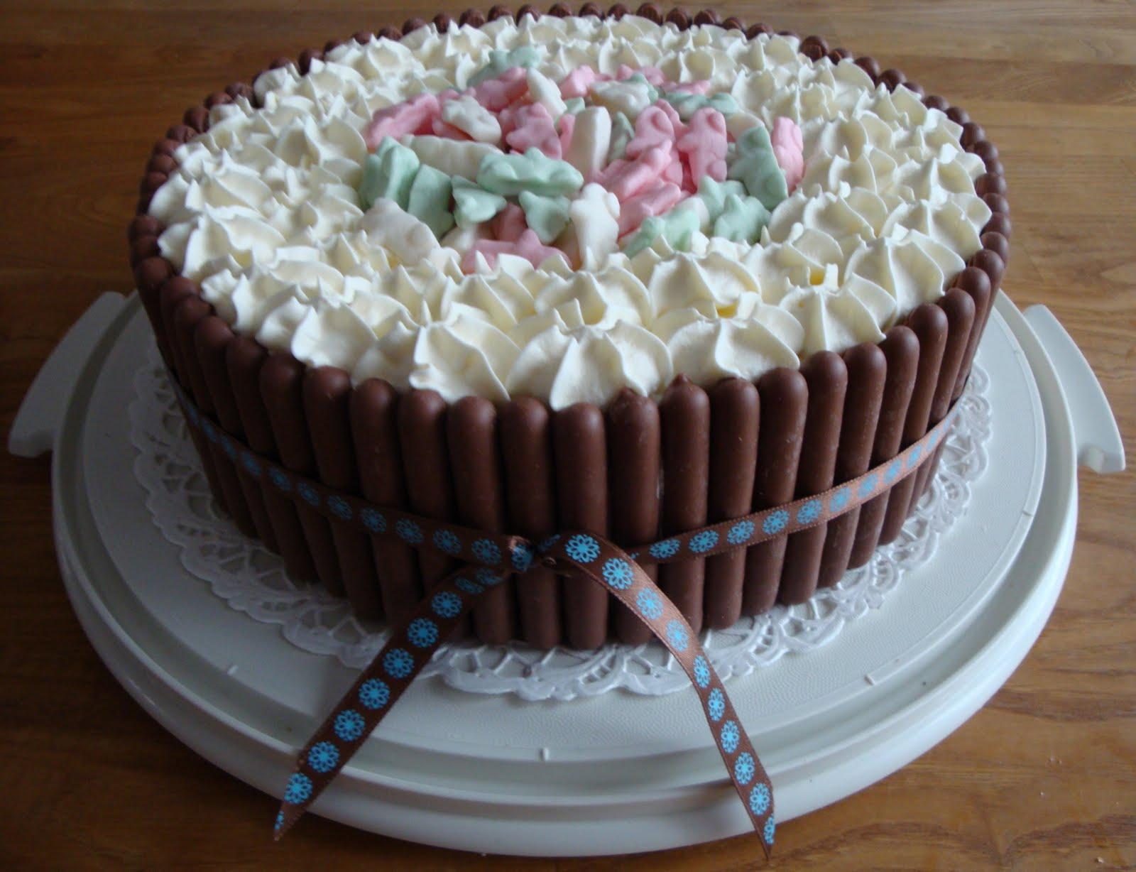 tårta med fluff