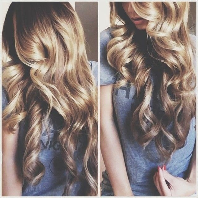 big fluffy curls