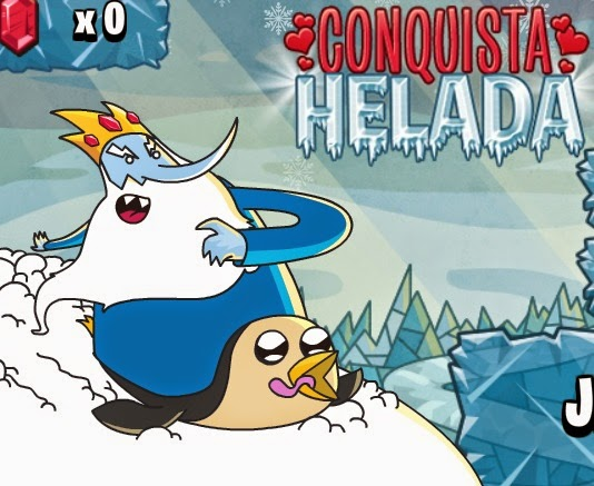 """Hora de Aventura """"Conquista Helada"""""""