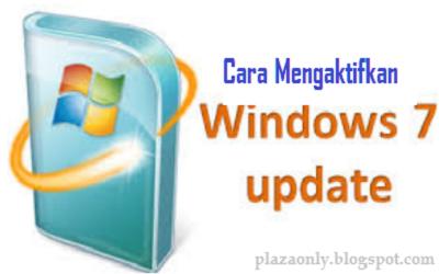Cara Mengaktifkan Windows Update