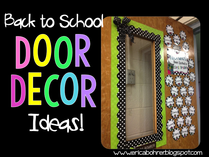 Welcome Decoration On Classroom Door ~ Classroom door decor ideas