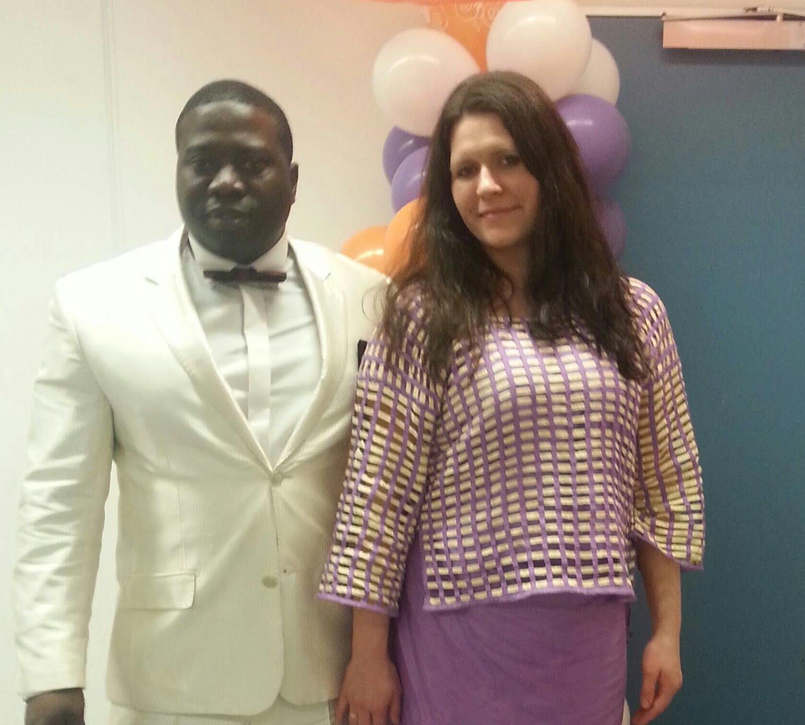 Pastor Prince and Mrs. Daria Ansah