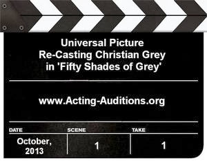 Fifty Shades of Grey Christian Grey Casting Call