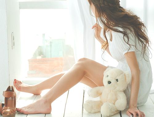 cute alone girl