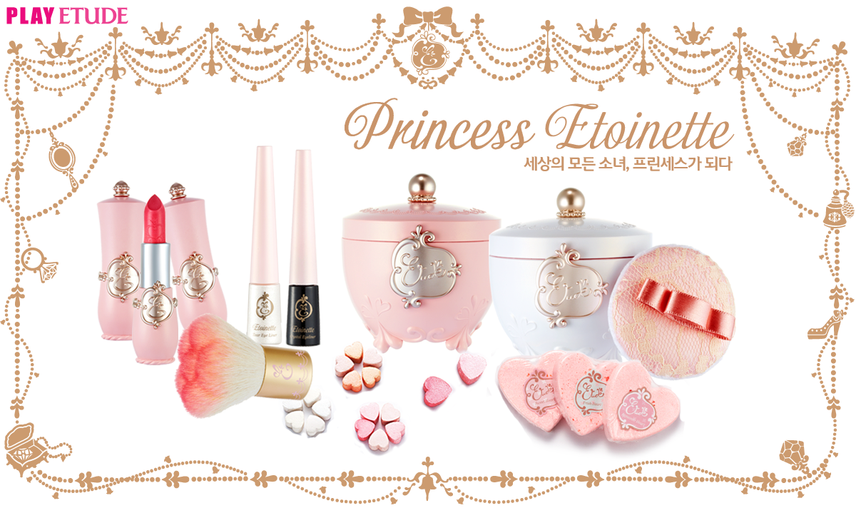 All about etude wanna be sweet for Princess housse
