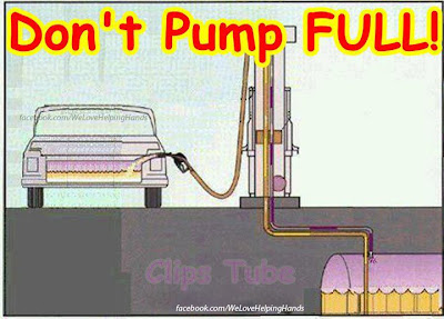 Dont pump full