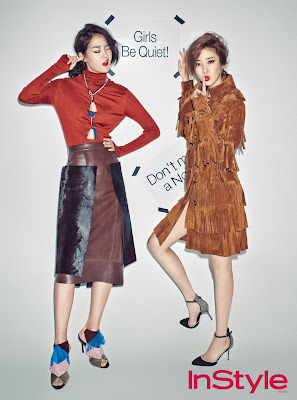 Son Dambi and Kang Seung Hyun InStyle November 2015