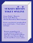 Rahasia Sukses Bisnis Tiket Online
