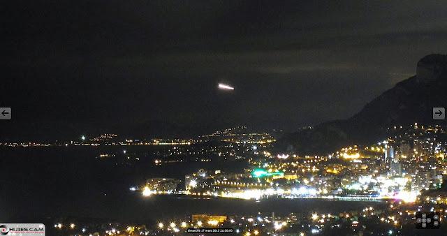 Los misteriosos objetos que vuelan sobre Monte Carlo Monte+Carlo