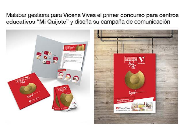 Primer concurso para Centros Educativos Mi Quijote de Vicens Vives