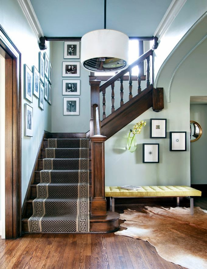 Wall Decor For Stairs : Decorating stairs creative ways to decorate your