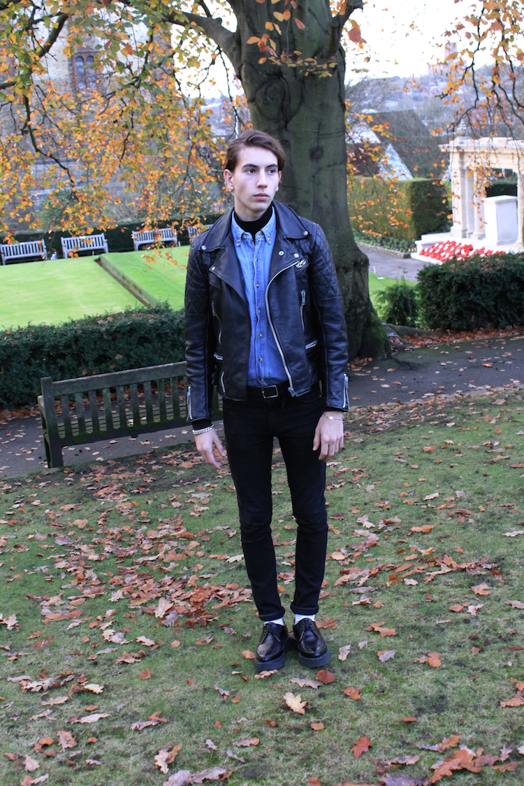 Lewis Leathers Jeans Leather Jacket Lewis