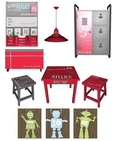 My sims 3 blog le petit atelier 2 by pilar for Le petit atelier
