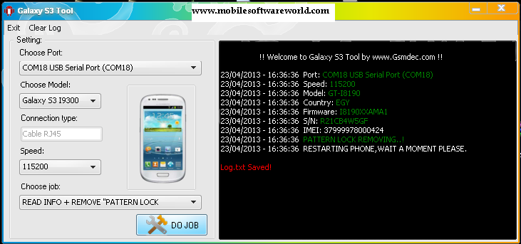 MOBILE SOFTWARE WORLD: SAMSUNG S3 GALAXY I9300 REMOVE