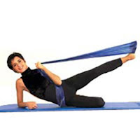 Exercícios com a Theraband (para fortalecer os pés)