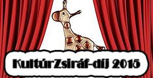 KultúrZsiráf-díj 2015