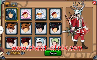 Cheat Event Christmas Des 2012 Ninja Saga