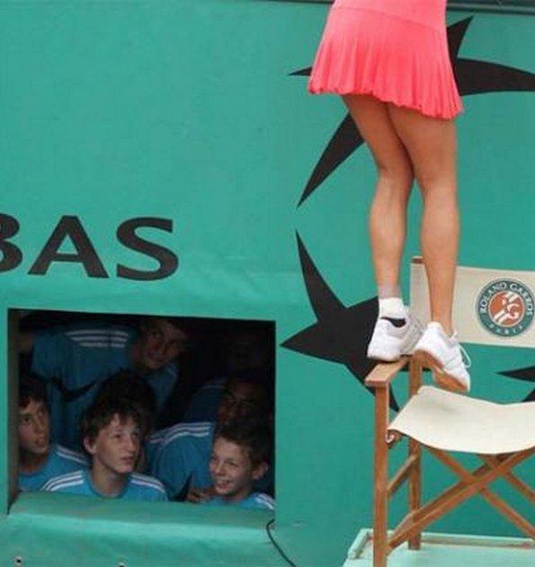 For What Reason Boys Love Tennis!