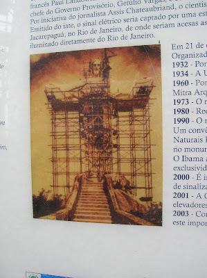 Construcción Cristo Corcovado, Rio de Janeiro, Brasil, La vuelta al mundo de Asun y Ricardo, round the world, mundoporlibre.com
