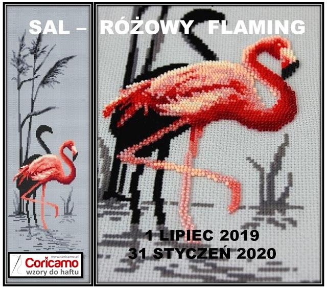 SAL - Różowy flaming